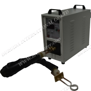 HF-25KW High Frequency Induction Heating Machine with Coaxical  Flexible Connection